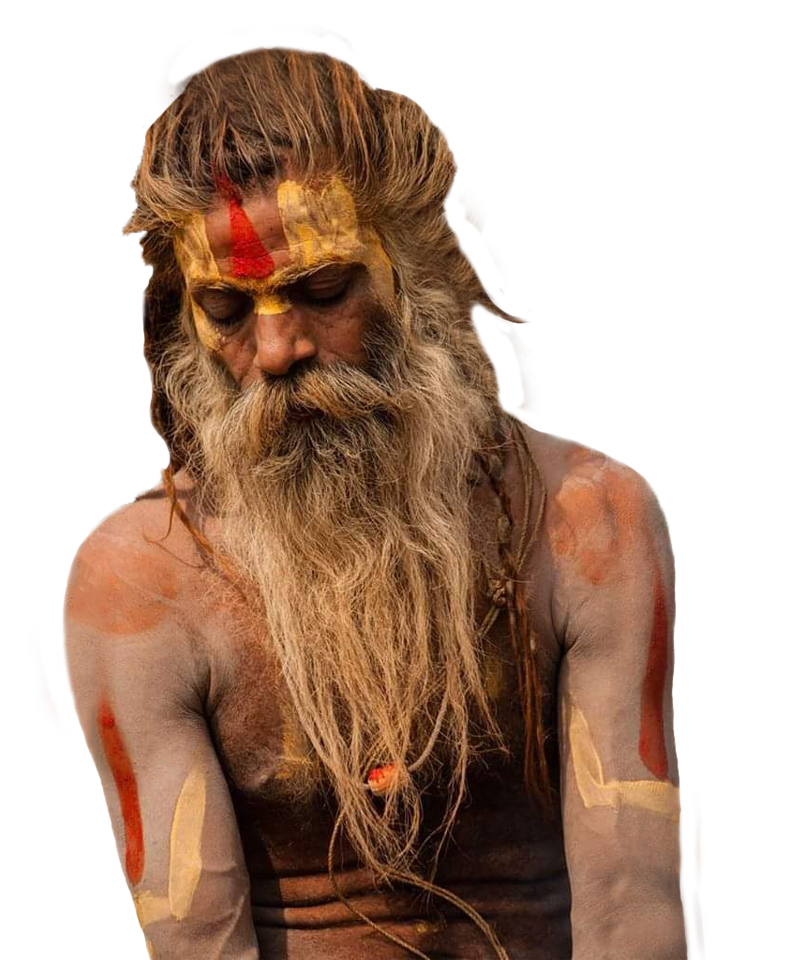 Santone yogi indiano
