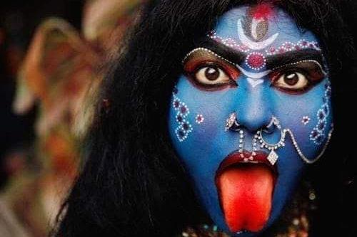 indiano trucco shiva tradizioni popolari